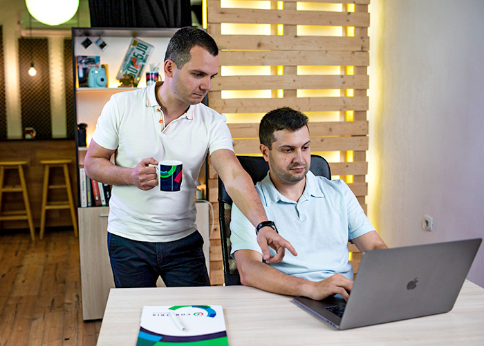 Krasimir Ivanov and Anton Shumanski